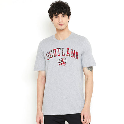Scottish Experience Men Great Look Embroidered Slim Fit Tee Shirt - Big Brands | Small Prices | Exportbrands.pk