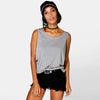 LADIES TEXTURE GREY BASIC VEST - Big Brands | Small Prices | Exportbrands.pk