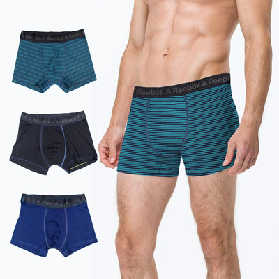 REEBOK MEN'S BOXER 3 PAIRS (CUT /WITHOUT LABEL) - Big Brands | Small Prices | Exportbrands.pk