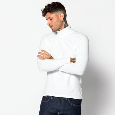 MEN ORGANIC COTTON HIGH NECK SWEAT SHIRT - Big Brands | Small Prices | Exportbrands.pk
