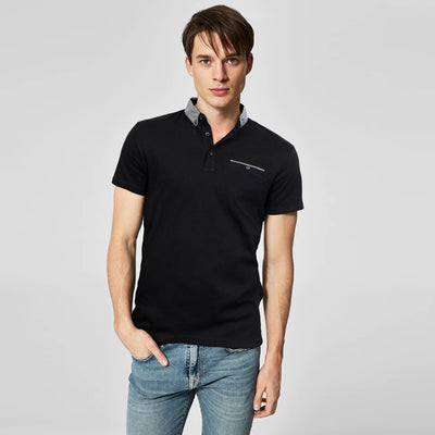 HIGH QUALITY ORIGINAL PRODUCT MEN SHORT SLEEVE POCKET POLO SHIRT - Big Brands | Small Prices | Exportbrands.pk