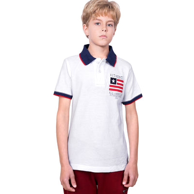 NEXT ORIGINAL BOYS POLO SHIRT EMBROIDERED CHEST - Big Brands | Small Prices | Exportbrands.pk