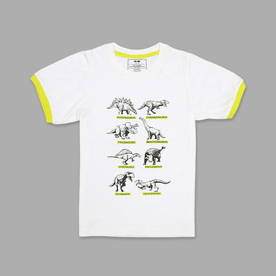 KHD Boys Wild Creature Regular Fit T-Shirt 100% Cotton - Big Brands | Small Prices | Exportbrands.pk