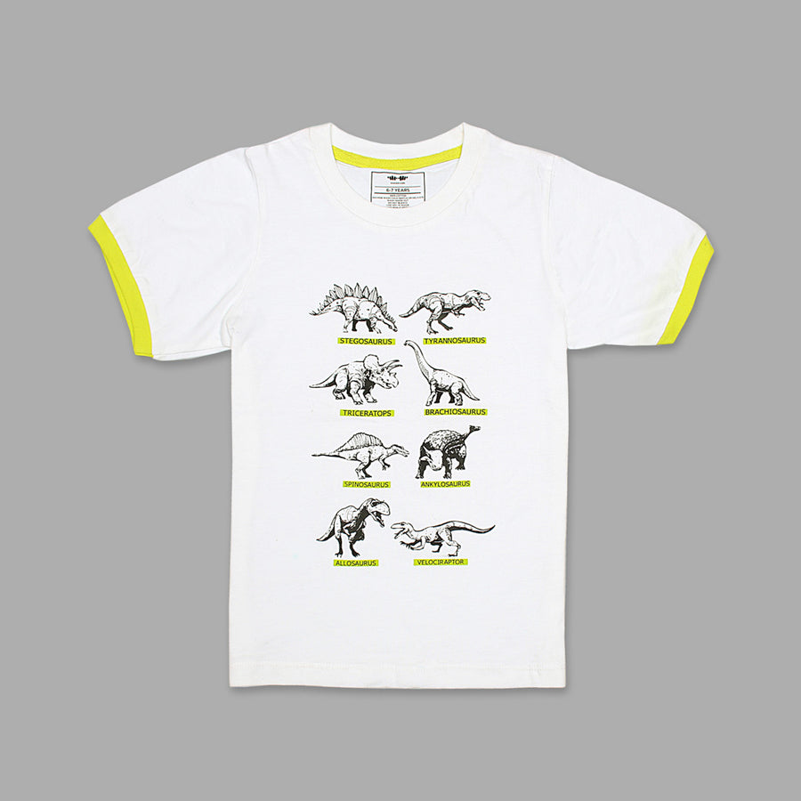 KHD Boys Wild Creature Regular Fit T-Shirt 100% Cotton