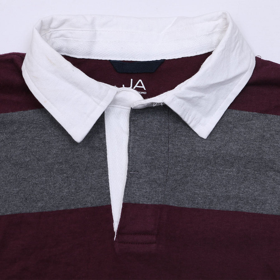 JA MEN'S LONG SLEEVE POLO