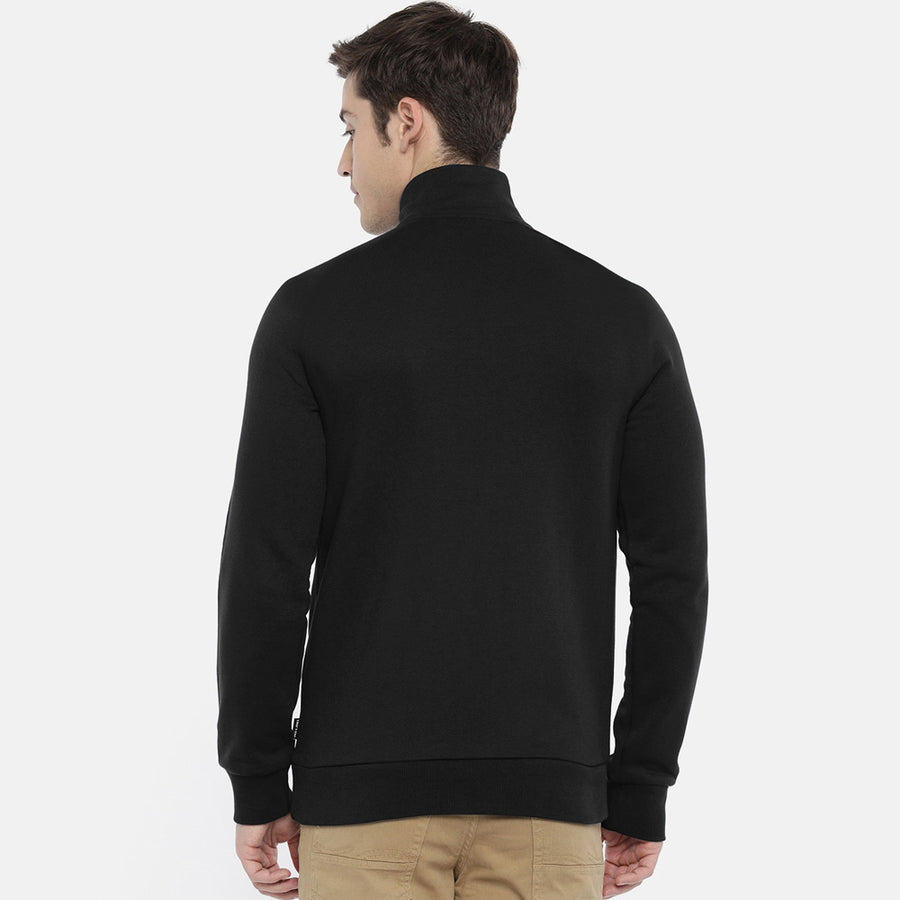 Pierre Cardin Men Funnel Neck Slim Fit Jacket