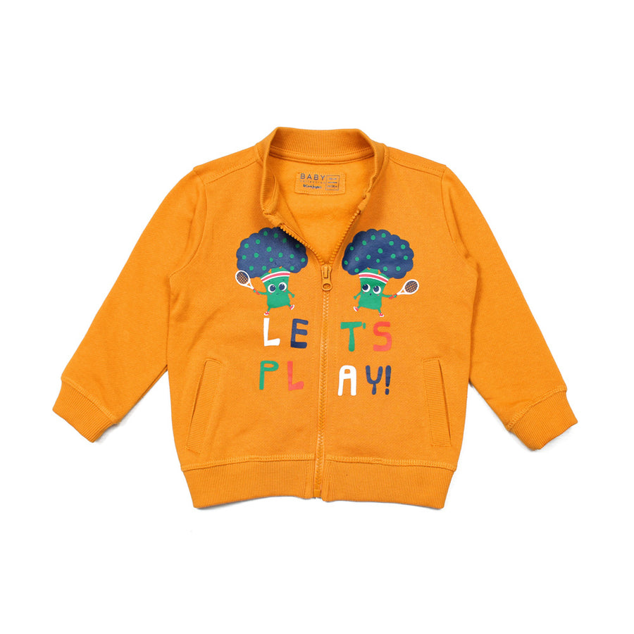 BOYS LET'S PLAY ZIPPER JACKET