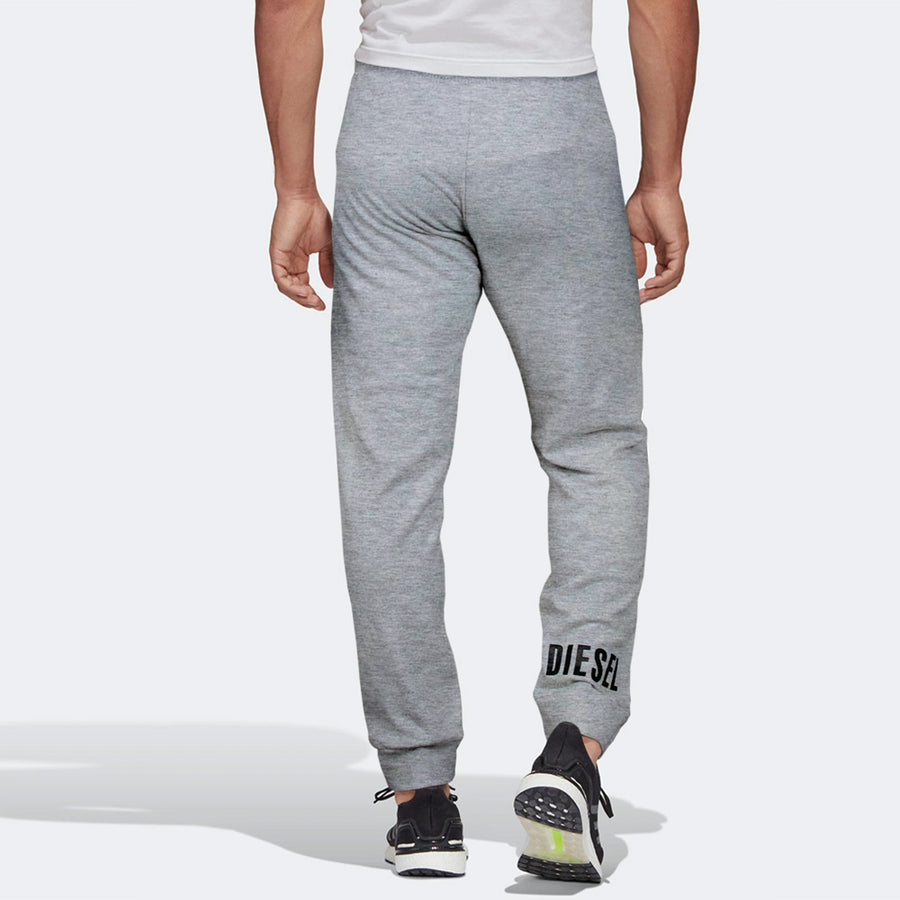 Diesel Men Grey Solid Active Skater Sports Joggers/Track Pant