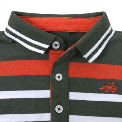 NEXT CUT LABEL BOYS FULL SLEEVES POLO SHIRT - Big Brands | Small Prices | Exportbrands.pk
