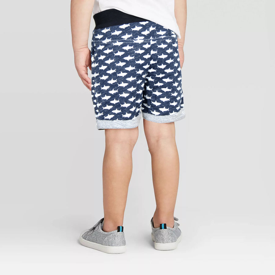 SHARK BOYS DAILY SUMMER WEAR CASUAL 4 POCKETS SHORT - Big Brands | Small Prices | Exportbrands.pk