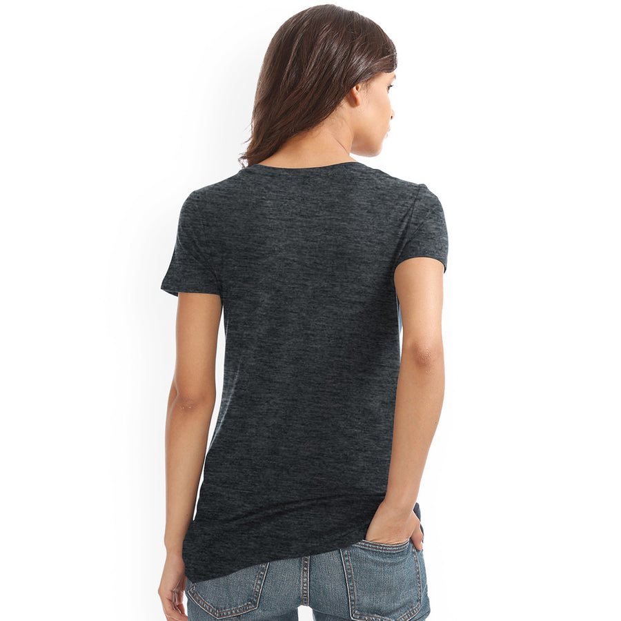 Women All Day Look Smart Light Wight Slim Fit T-Shirt
