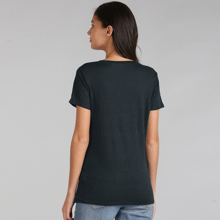 Roxy Women All Day Active Light Wight Soft Look Slim Fit T-Shirt - Big Brands | Small Prices | Exportbrands.pk