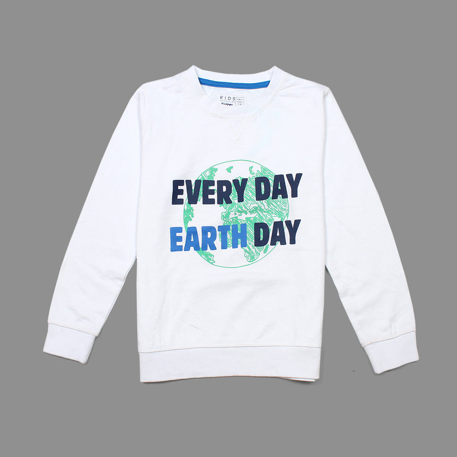 EVERY DAY EARTH DAY BOYS SUPERIOR QUALITY SWEAT SHIRT