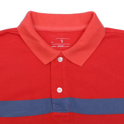 GAP SHORT SLEEVE YARN DYED STRIPED POLO SHIRT - Big Brands | Small Prices | Exportbrands.pk