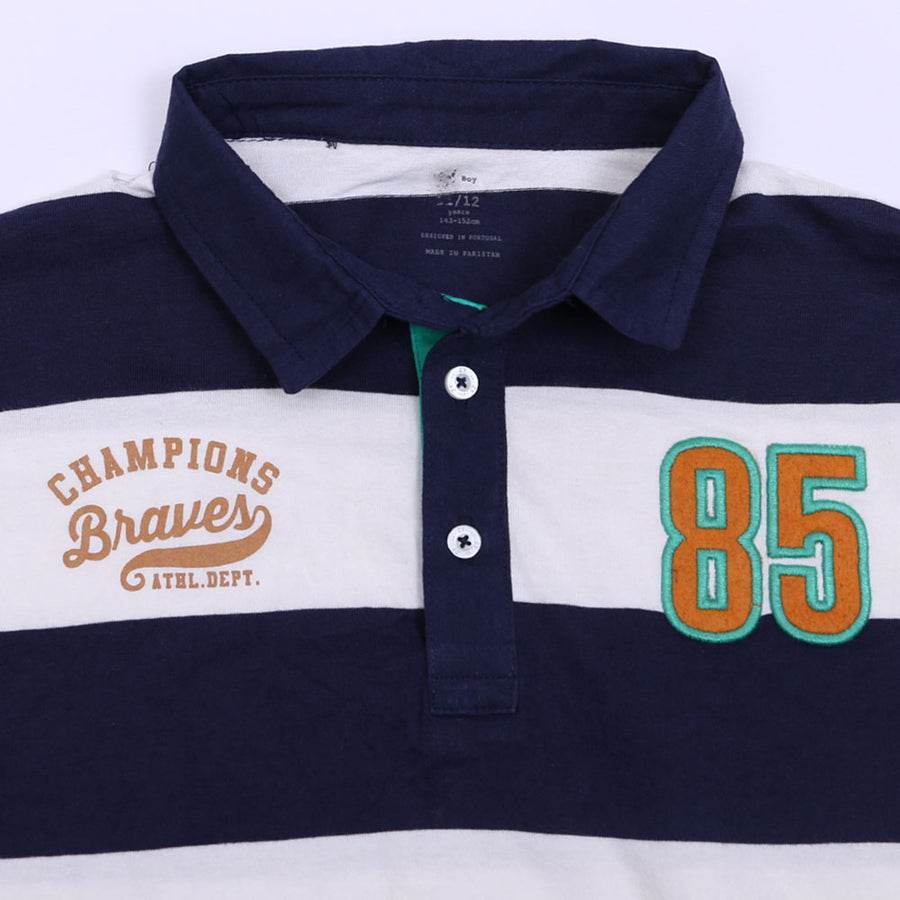 ZY ORIGINAL BRAVE CHAMPIONS FULL SLEEVES BOYS POLO SHIRT