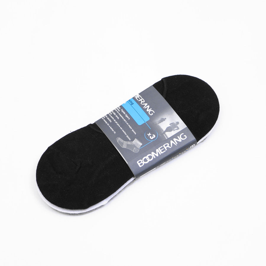 PRO-SPRINTS PERFORMANCE 3 PAIRS PACK UNISEX INVISIBLE SOCKS - Big Brands | Small Prices | Exportbrands.pk