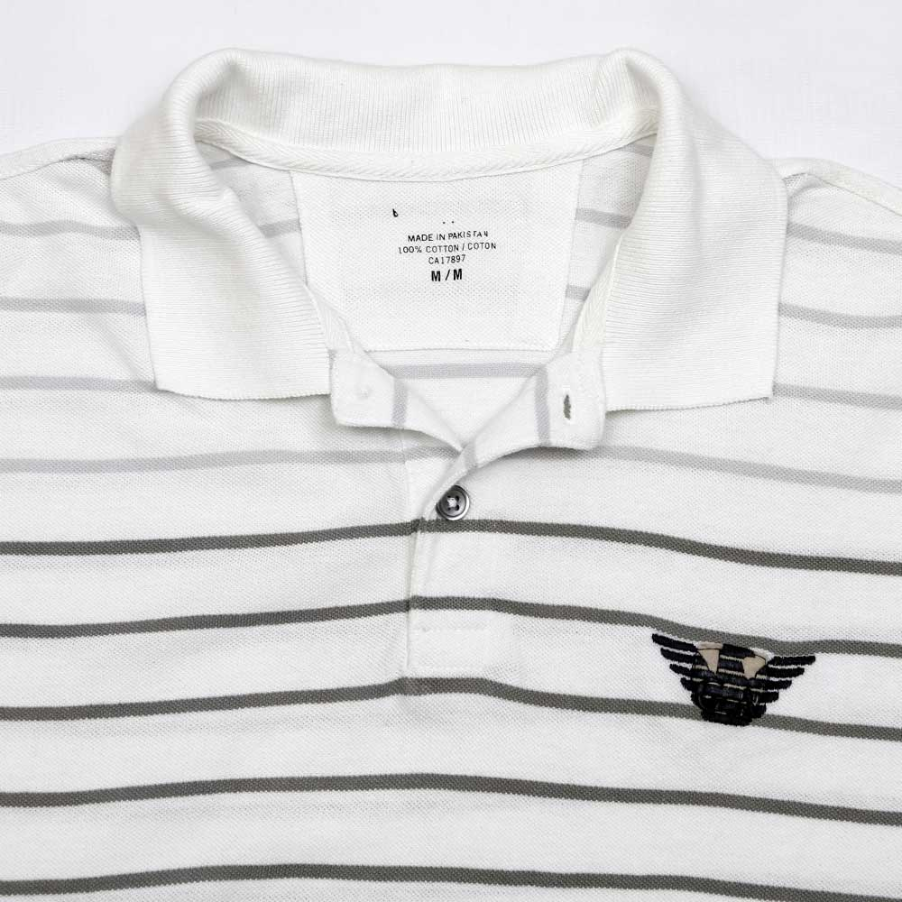 d49c4a5fc GAP SHORT SLEEVE YARN DYED STRIPED POLO SHIRT - Big Brands