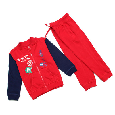 BOYS SUPERIOR QUALITY MONSTER SCHOOL TRACK SUITE