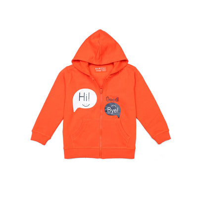BOYS SUPERIOR QUALITY REGULAR FIT ZIPPER HOODIE