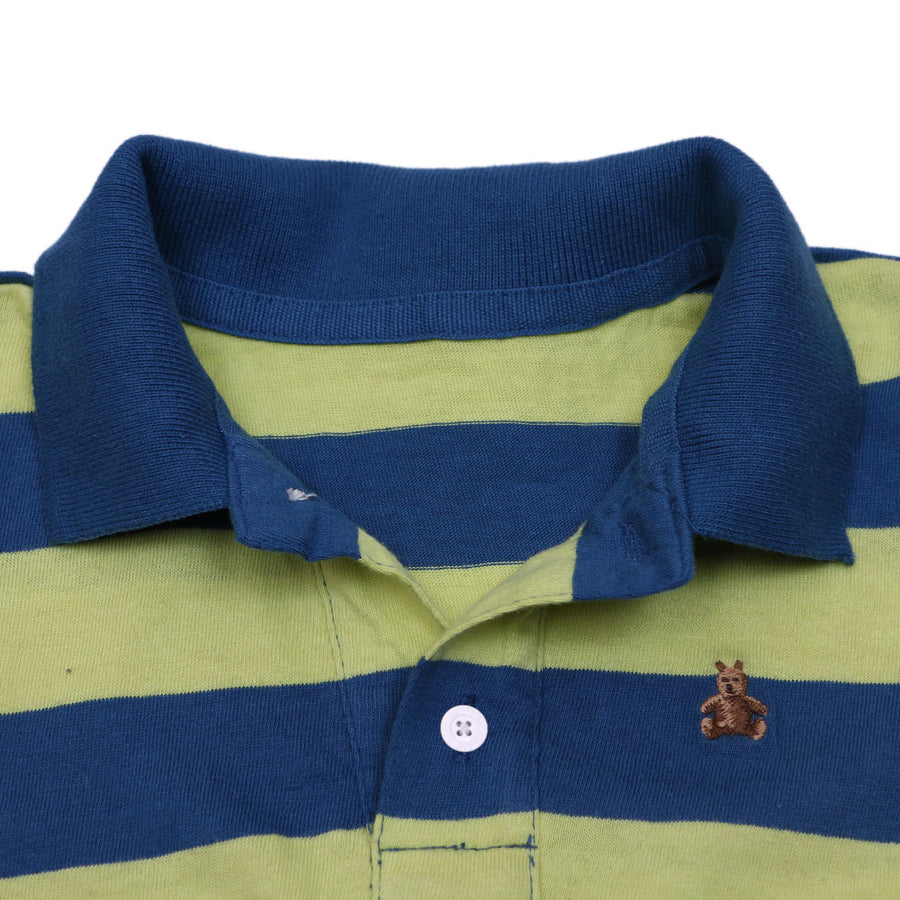GAP KIDS YARN DYED FULL SLEEVES POLO SHIRT