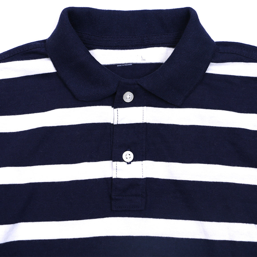 GAP ORIGINAL FULL SLEEVES YRAN DYED POLO SHIRT - Big Brands | Small Prices | Exportbrands.pk