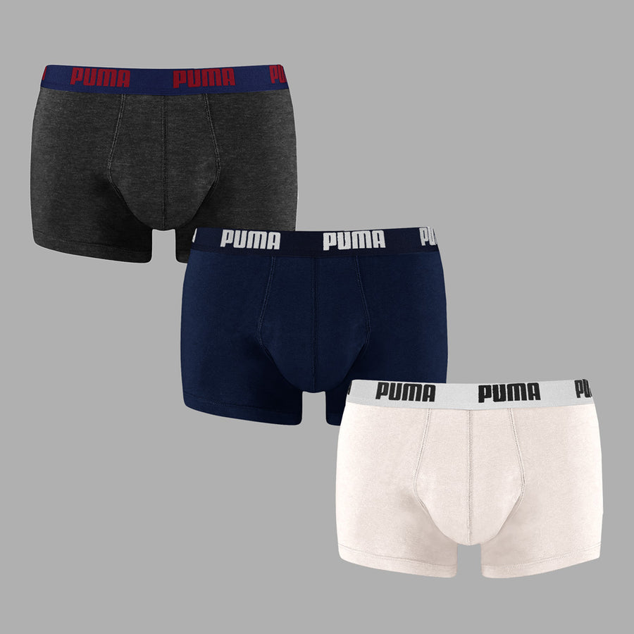 PUMA ORIGINAL MEN'S BOXER 3 PAIRS (CUT LABEL) - Big Brands | Small Prices | Exportbrands.pk