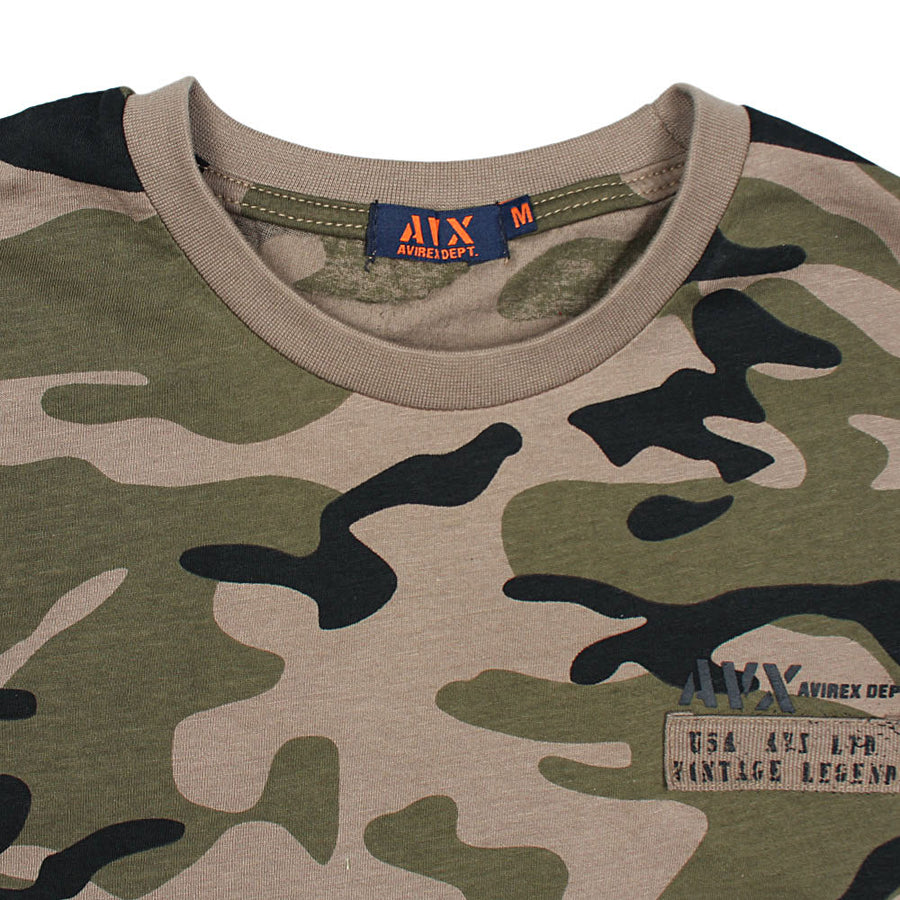 CLASIC AVX CAMO GREEN SLIM FIT T SHIRT