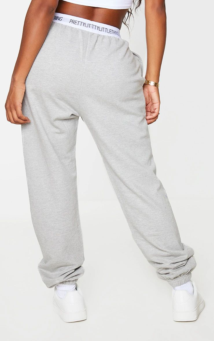 GREY BAND DETAIL JOGGERS