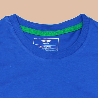 KHD Boys Green Dinosaur Regular Fit T-Shirt 100% Cotton - Big Brands | Small Prices | Exportbrands.pk