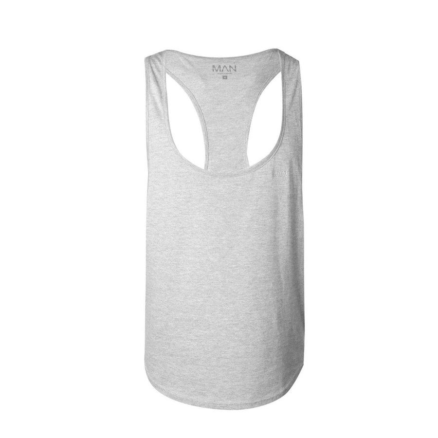 Man Gym Wear Sleeveless Racer Pack Of Two - Big Brands | Small Prices | Exportbrands.pk