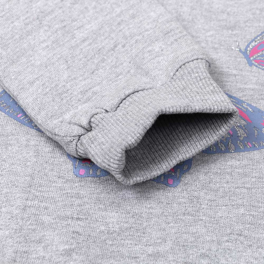 IFT STYLISH  GIRLS BUTTERFLY SWEATSHIRT - Big Brands | Small Prices | Exportbrands.pk