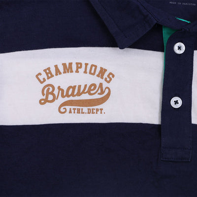 ZY ORIGINAL BRAVE CHAMPIONS FULL SLEEVES BOYS POLO SHIRT - Big Brands | Small Prices | Exportbrands.pk