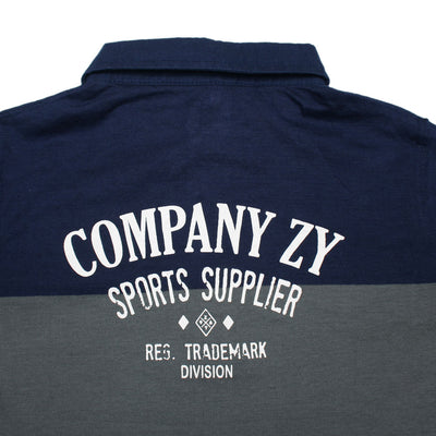 COMPANY ZY BOYS YARN DYED FULL SLEEVES POLO SHIRT - Big Brands | Small Prices | Exportbrands.pk