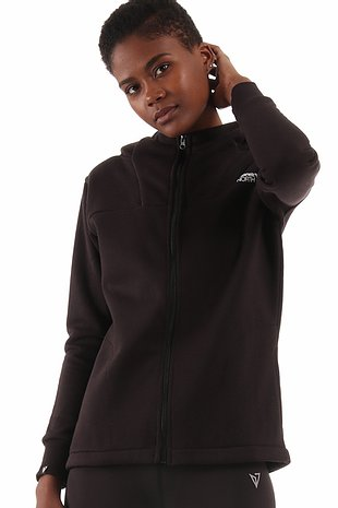 Magnetic Women All Day Active Black Hoodie