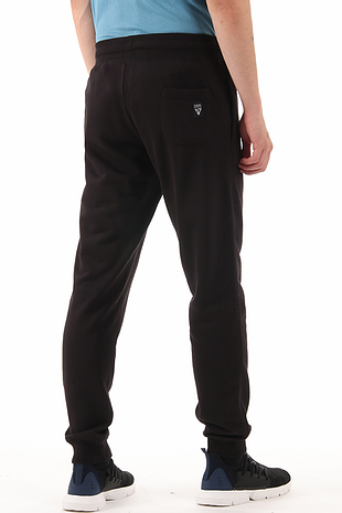 Magnetic Men Black Slim Fit Trouser/Pant