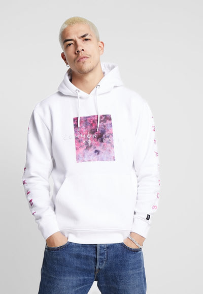 COMMON KOLLECTIVE PRINTED BLOCK HOODIE