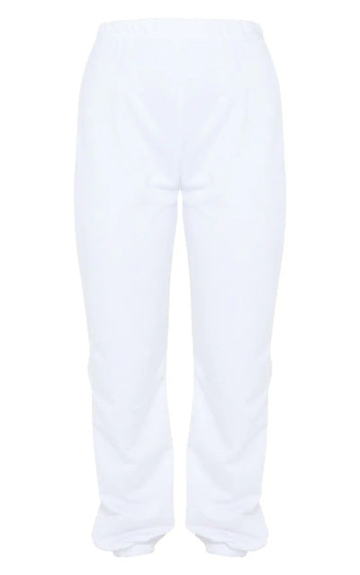 CREAM BASIC LIGHT WEIGHT JOGGERS