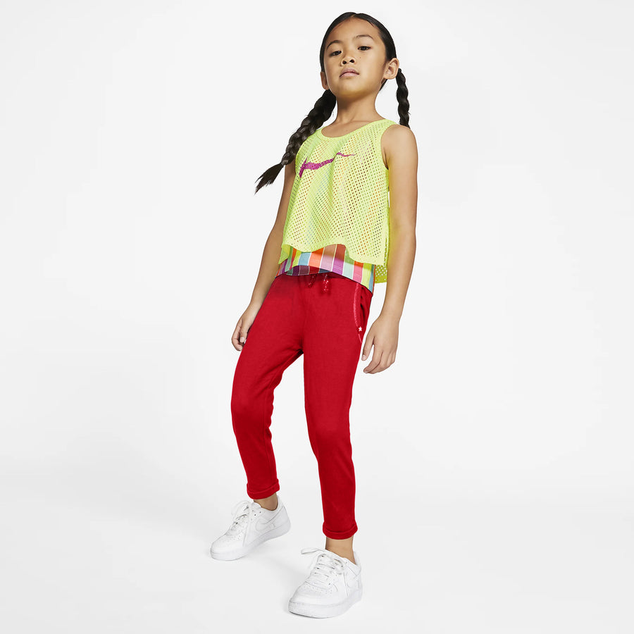 GIRLS REGULAR FIT TRACK PENT-TROUSER