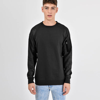 EXCLUSIVE EXPORT QUALITY MEN SWEATSHIRT WITH SILKY ARMS - Big Brands | Small Prices | Exportbrands.pk