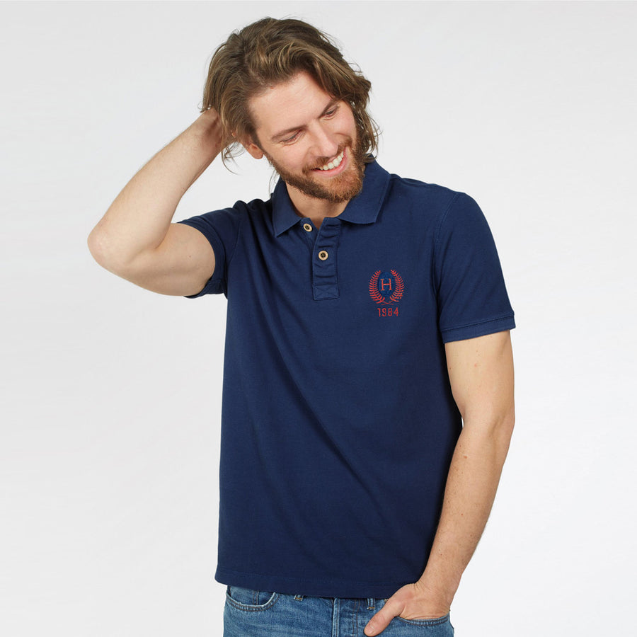 FAT FACE COTTON POLO SHIRT (CUT LABEL)