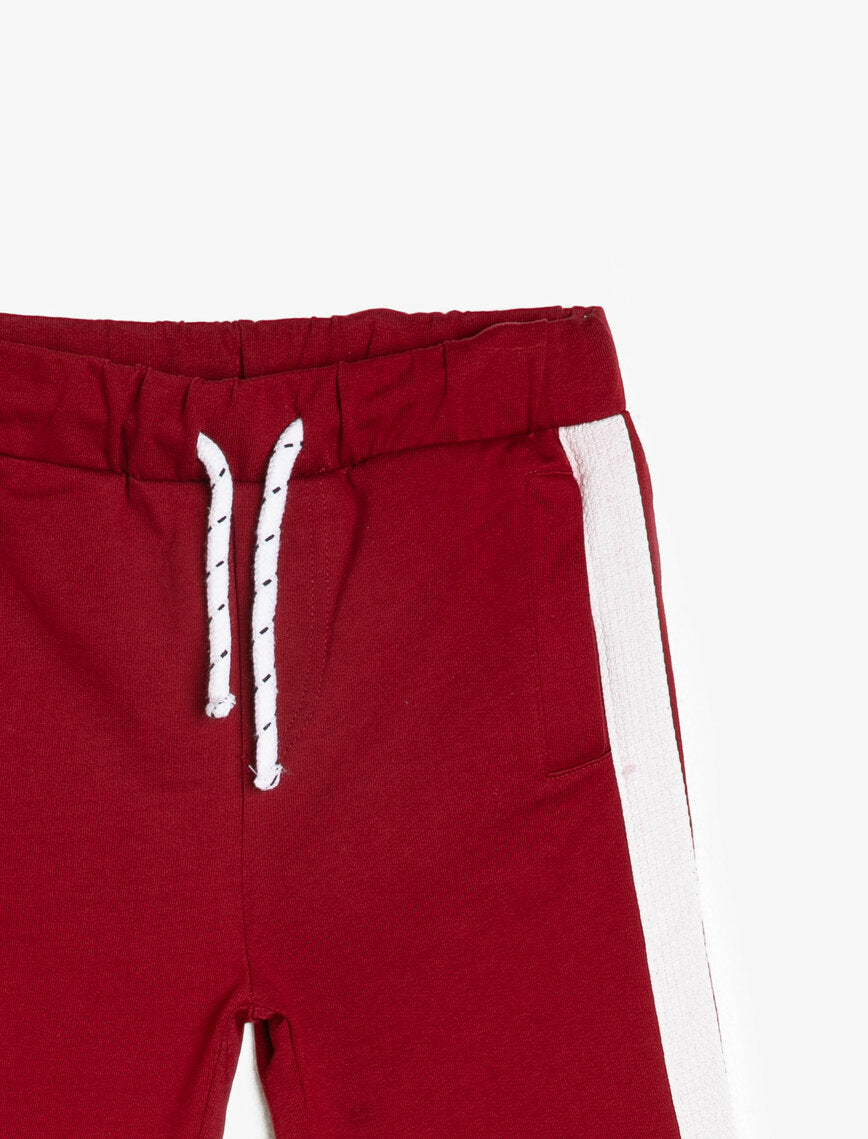 KIDS SIDE STRIPE LIGHTWEIGHT SWEAT SHORTS