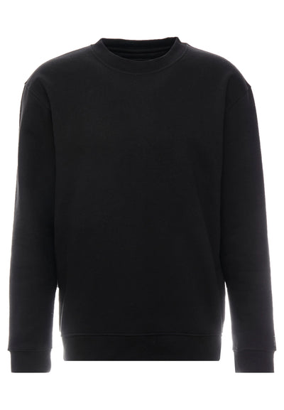 SUPERIOR QUALITY FLASH CREW NECK - SWEATSHIRTS - BLACK