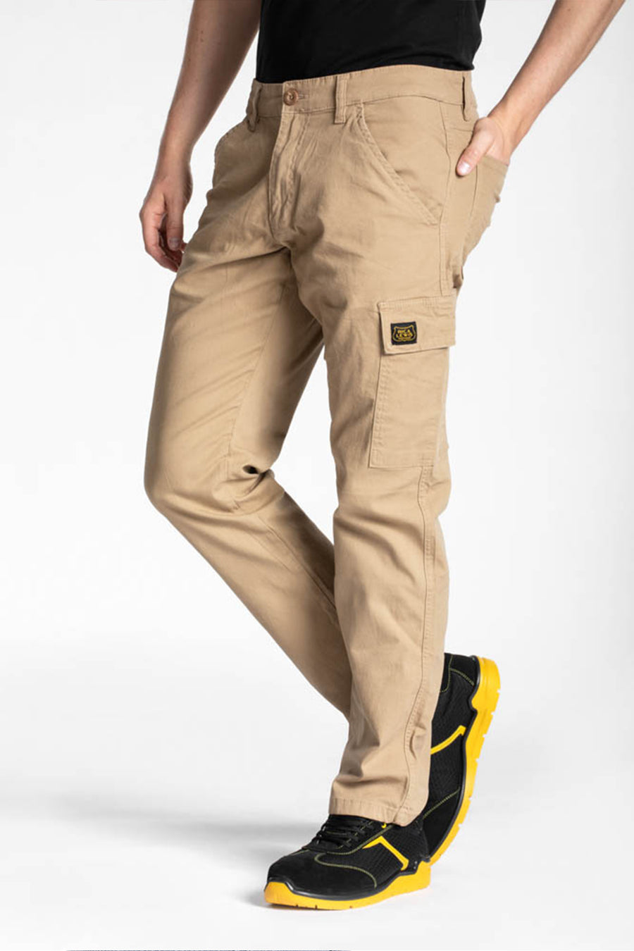 STRETCH REGULAR FIT CARGO PANT
