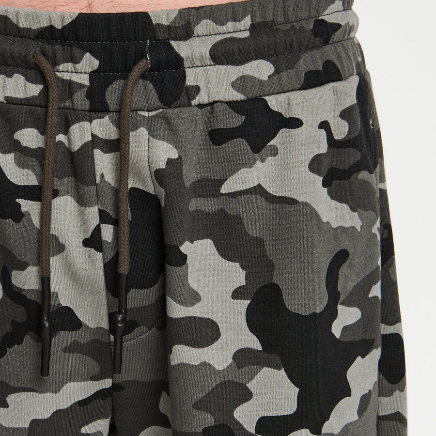 CAMO BOYS SWEAT SHORTS