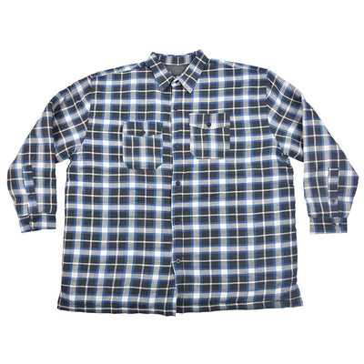 BIG MAN QUILTED HEAVY WEIGHT CASUAL SHIRT TO PROTECT EXTREME COOL WEATHER - Big Brands | Small Prices | Exportbrands.pk