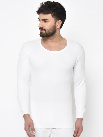 Reebok Men Thermo-warm White Undergarment Shirt