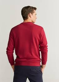 Mango Man Red Sweat Shirt
