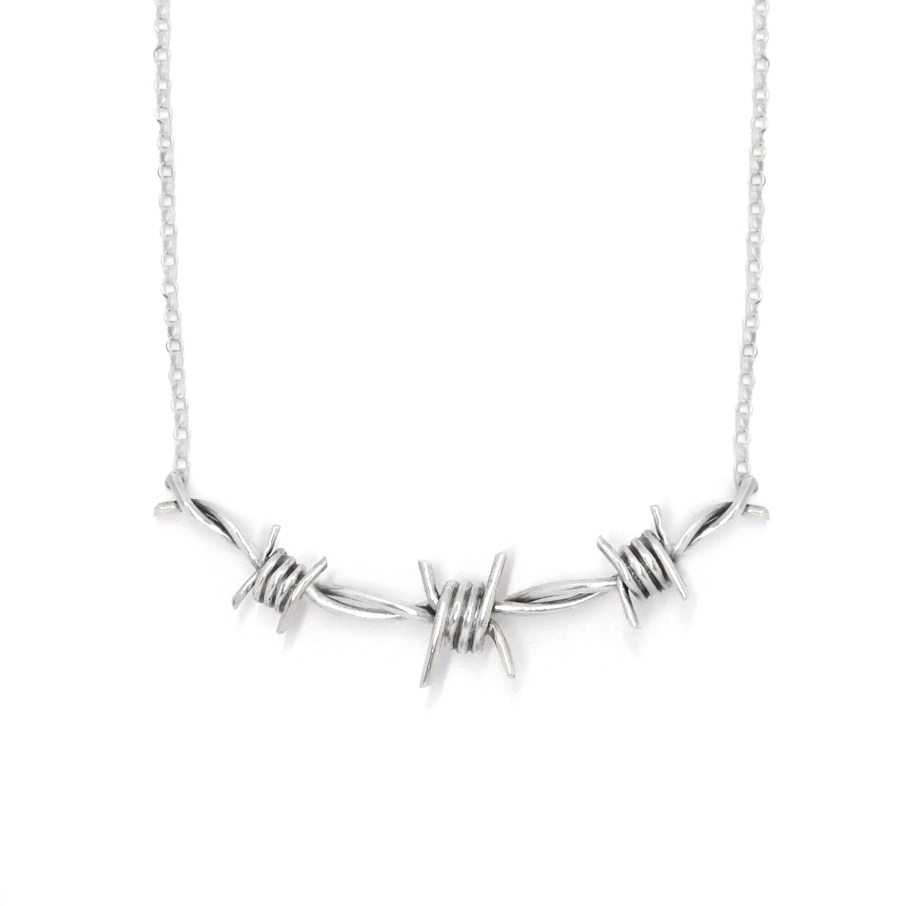 Triple Barbed Necklace