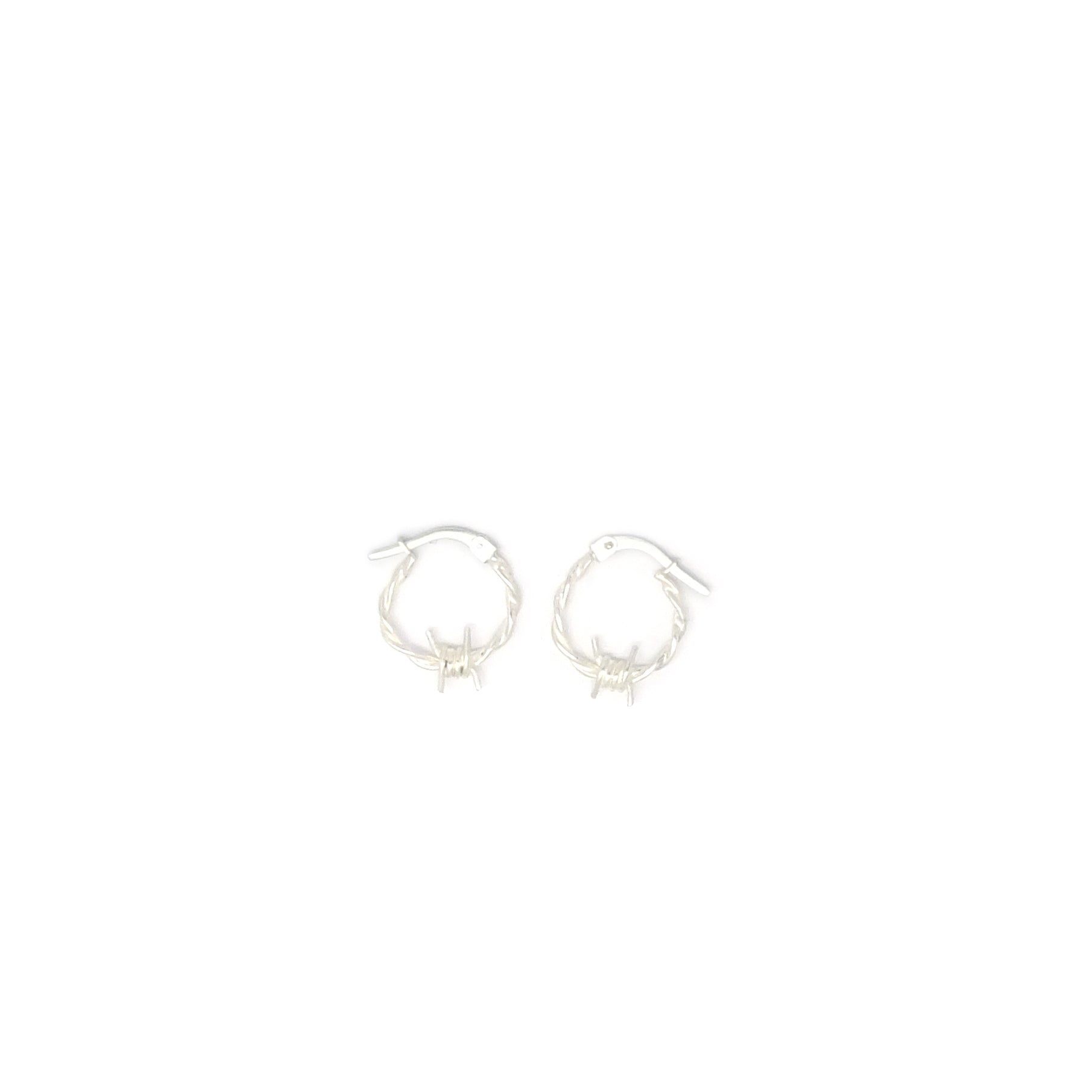Barbed Wire Hoops XS