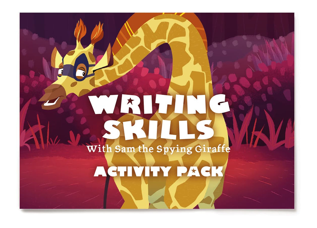 Writing Skills with Sam - Activity Pack